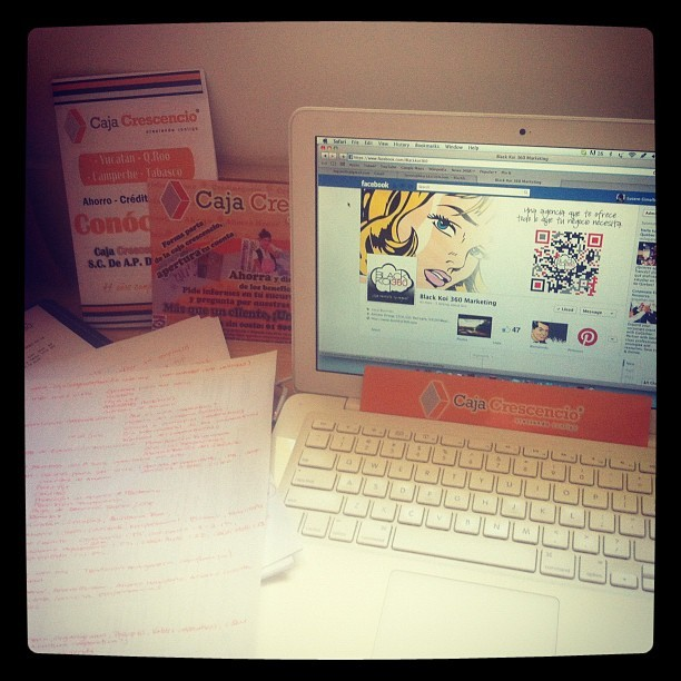 Day 4 of work in Merida, Yucatan. Working on market study :) (Taken with instagram)