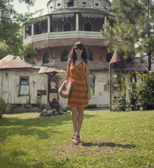 modcloth:  Summer colors on Rhiannon of Liebemarlene.