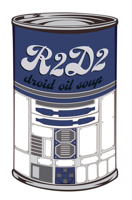Droid Oil Soup - by Rafael Pereira Costa