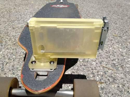 3D Printed iPhone Skateboard Mount for Recording Video (via Shapeways | Blog - Latest 3D Printing News & Innovation)