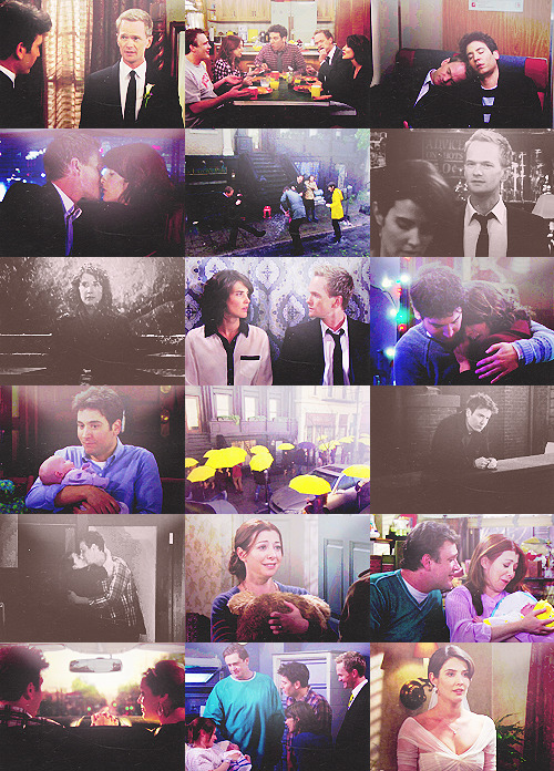 HIMYM SEASON 7 • Kids, when a door closes, well, you know the rest…