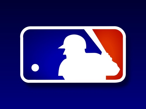 "This is the logo of Major League Baseball. Makes me want to shout: ""LOOK OUT, THAT BALL IS TOO CLOSE TO HIT AWAY SUCCESSFULLY."" Ahem. Carry on."