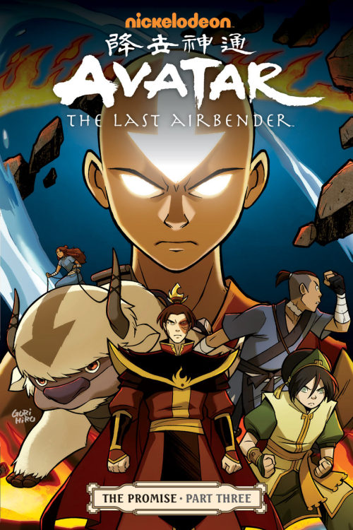 Avatar: The Last Airbender - The Promise, Part 3 (Cover)  Avatar: The Last Airbender creators Michael Dante DiMartino and Bryan Konietzko bring The Promise to its explosive conclusion (ComicBookResources)  Available Wednesday, September 26th.