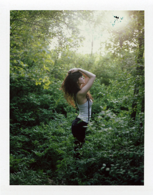 (Serenity in Green on Flickr.) Instant film is go(l)d. (19.5.2012)