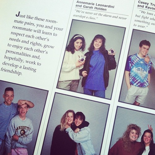 The 1993 student view book. #ThrowbackThursday (Taken with instagram)