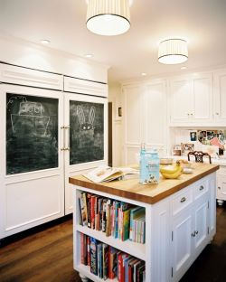 myidealhome:  pretty kitchen (via justinetaylor From Lonny Mag (Jan/Feb 2011)