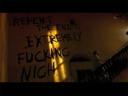 the-aposematic-girl:  REPENT; THE END IS EXTREMELY FUCKING NIGH