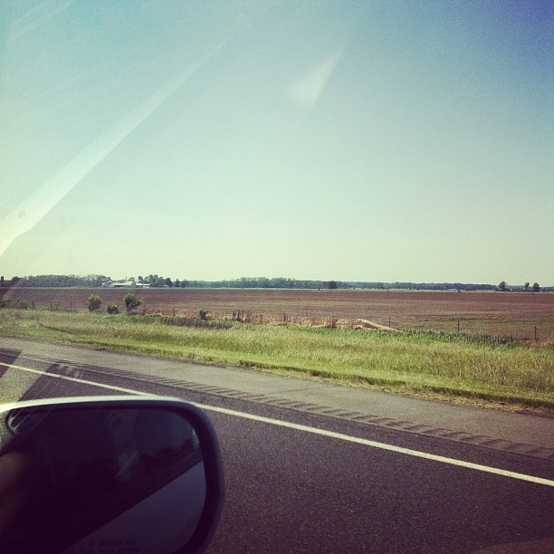 Indiana, on the way to Chicago (Taken with instagram)