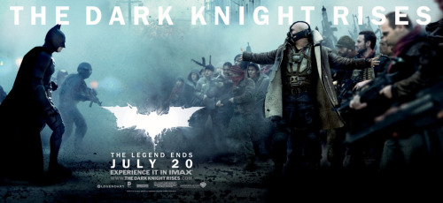 The Dark Knight Continues to 'Rise' in New TV Ads, Banners, Photos [Video] By Graeme McMillan Yes, yes, Avengers: You've had your day, being much-beloved and breaking box office records and everything. But this summer superhero movie showdown is only getting started, as Warner Bros. is patiently reminding everyone with two new television spots and a host of still images showcasing Christopher Nolan's final Batman movie, The Dark Knight Rises. See them all.