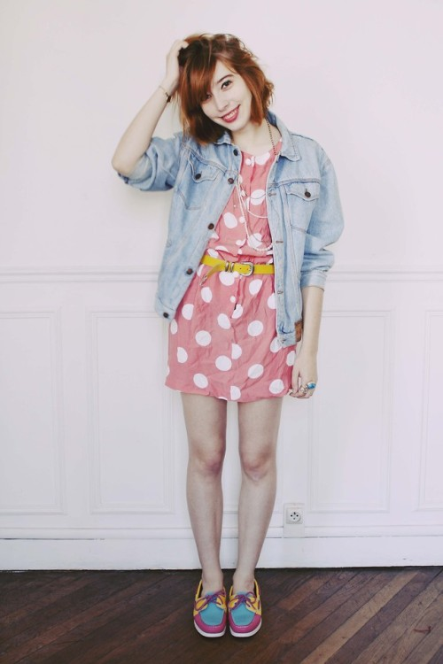 lookbookdotnu:  Polka dots. (by Cookies (Typhaine) Augusto)