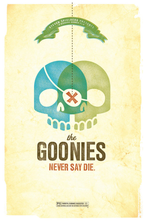 xombiedirge:  Goonies Never Say Die by Amy McAdams