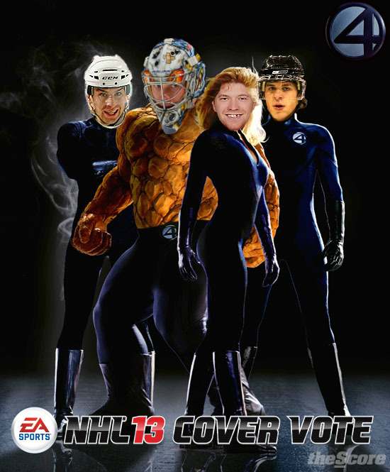 EA Sports NHL '13 Cover Athlete… We are down to the Final Four. Who's Your Pick?
