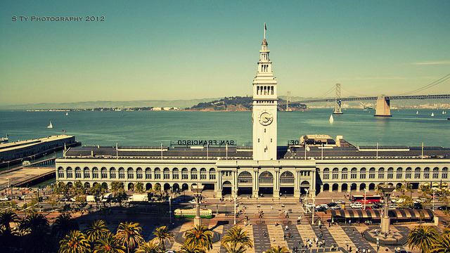 Ferry Building by the Bay by S Ty Photography on Flickr.