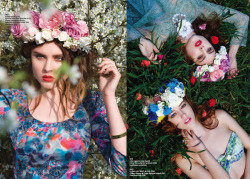 Loulou Loves You Flower headbands (+ real flowers) for Absolutely Kensington/Notting Hill, NXNW, City & Angel (May 2012)