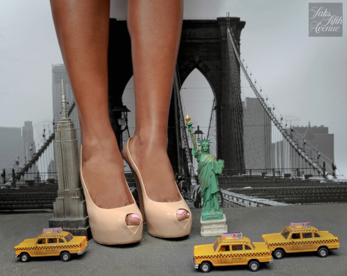 10022-shoe:  Happy birthday Brooklyn Bridge! You are the absolute gateway to chic! (Shoes, Giuseppe Zanotti) Photo by KSW