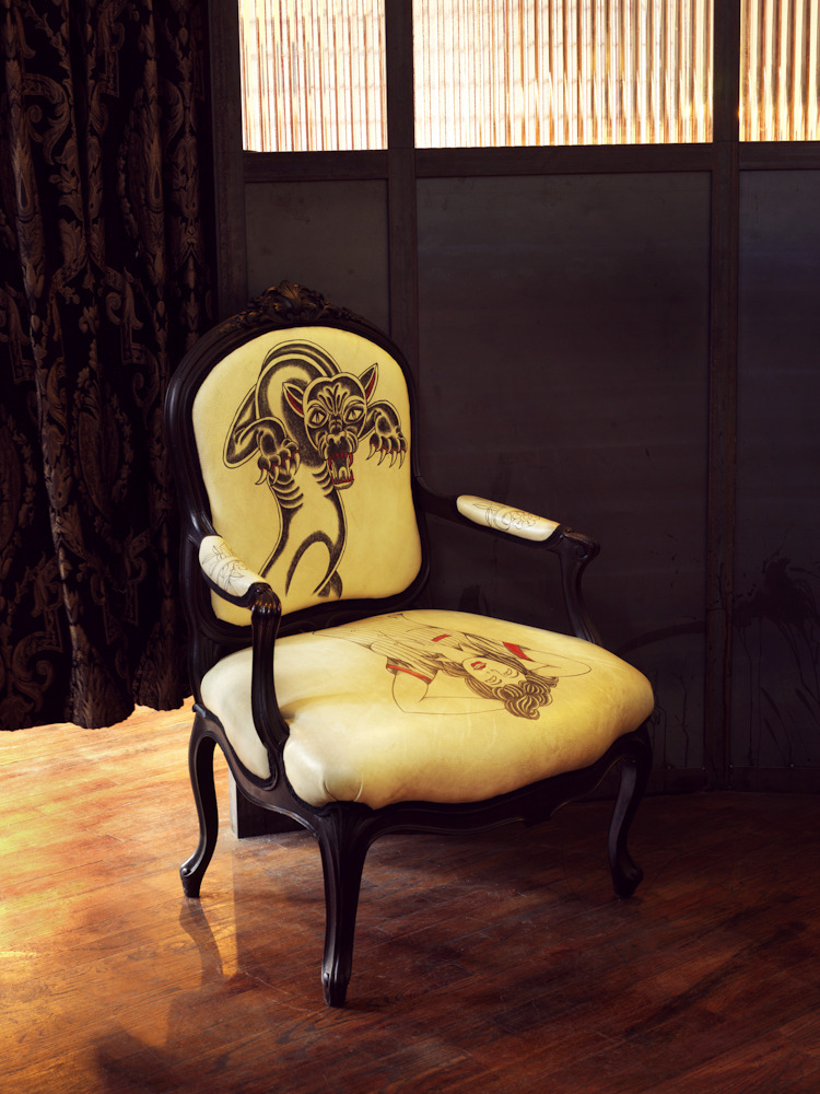 Chair, Saved Tattoo, 2009