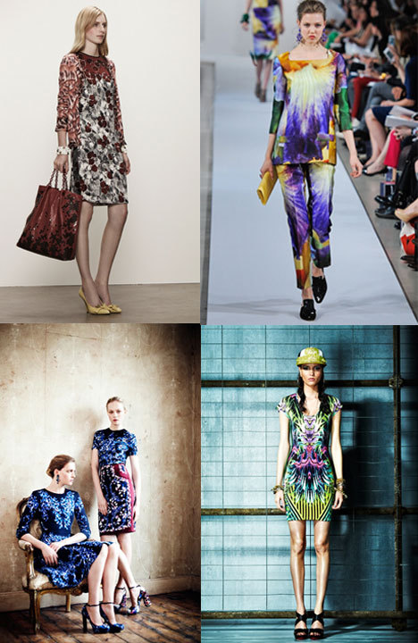 Bold prints are spilling over from spring into resort. Will you be getting printed this season?
