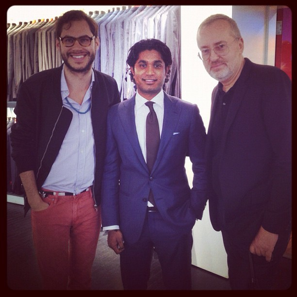 suitsupply:  GQ Crew @ Suitsupply #suitsupply #GQ #menswear (Taken with instagram)