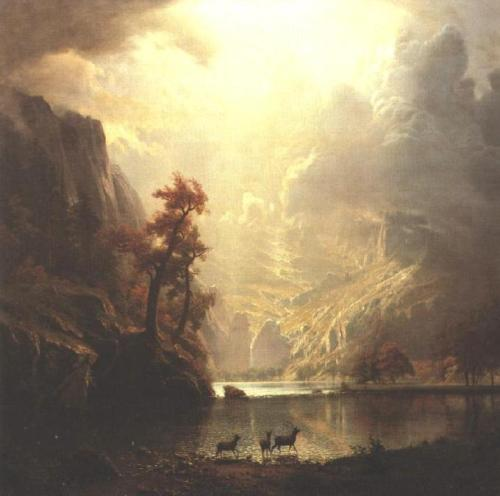 "Albert Bierstadt: SierraNevada, Early Morning ""Source"""