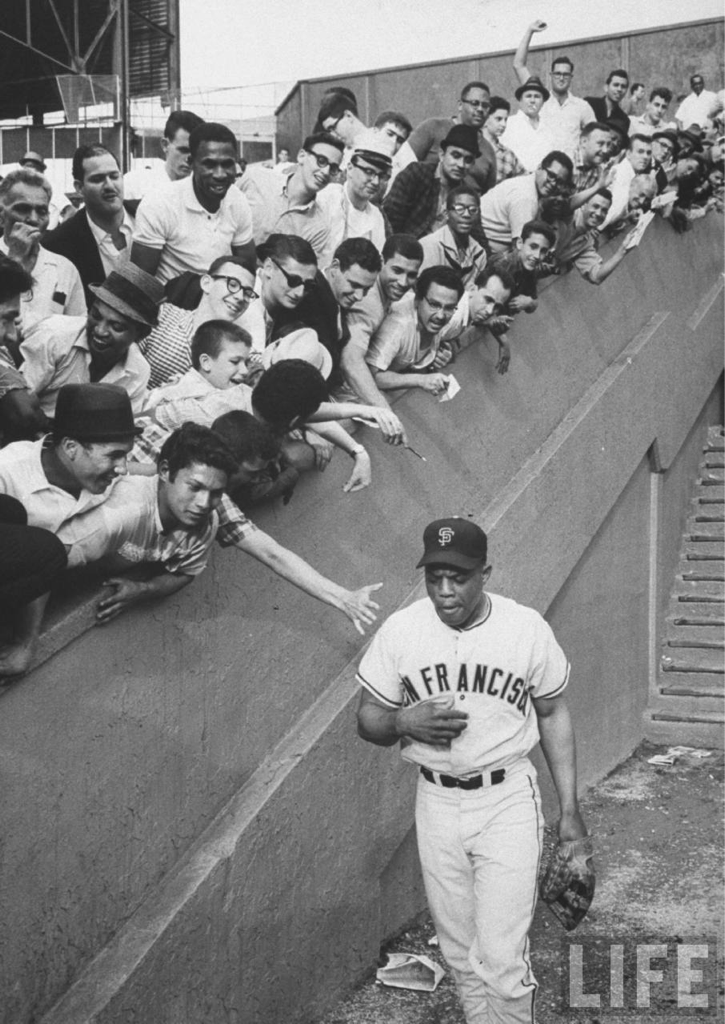 dgemsports:  Willie Mays