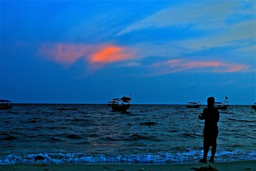 Sihanoukville's Sunset  Serendipity Beach, Sihanoukville, CAMBODIA Copyright:  LIVE THE PRE$ENT, CVTCH THE INSTVNT
