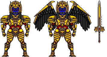 heckyeahmmpr:  megazeo:  heckyeahmmpr:  Goldar (American suit) by ~MegaZeo  Oh my God someone posted one of my Micros *squee*  omg I hope you don't mind!! ><  Heh, not at all. I'm a little flattered, even.