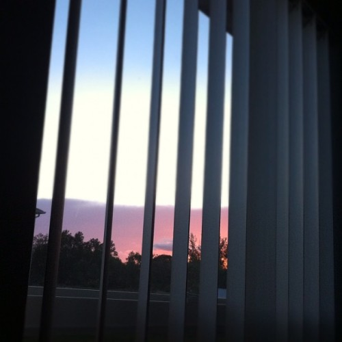I love the view of sunsets I get in my room.🌅 (Taken with instagram)