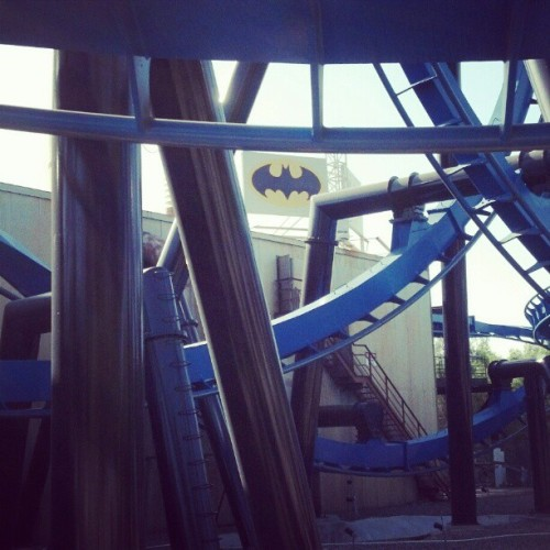 #batman #six #flags #magic #mountain (Taken with instagram)