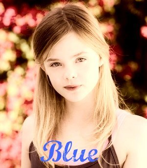 Elle Fanning as Blue
