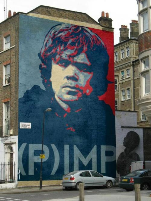 Game of thrones art in London!