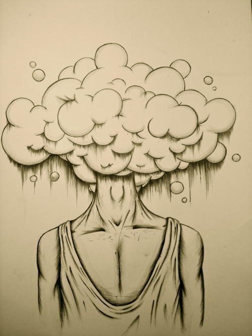 Mind in the clouds..