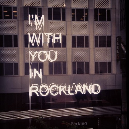 immutableinscrutable:  I'M WITH YOU IN ROCKLAND (Taken with Instagram at Museum of Modern Art (MoMA))