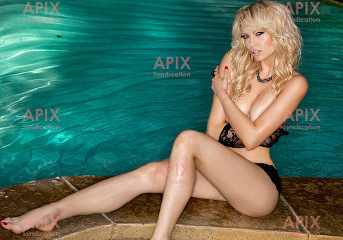We have just received a brand new shoot of Irina Voronina, the Playboy cover girl and Playboy Radio host who appears in the new Piranha 3DD film (released in the US next week, with other countries to follow).  Irina is a Russian actress with a successful career in Hollywood - she had a regular role in the US series Svetlana, has appeared in big screen comedies Epic Movie and Balls of Fury, and in episodes of Reno911! and Entourage.  Later this year she will also be seen in the comedies Hollywoo and Life's An Itch.