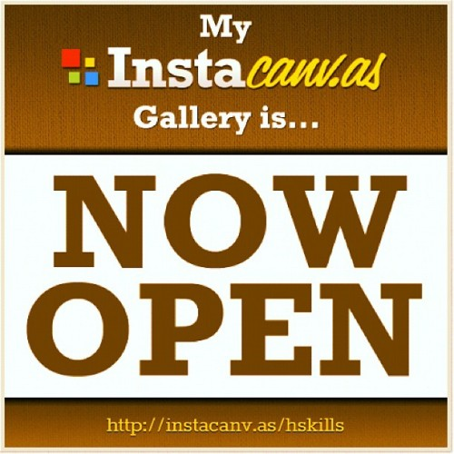 My gallery opened! Come check it out (Taken with instagram)