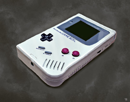 dotcore:  Game Boy.by Parin.