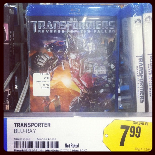 Transporters: robots in disguise (Taken with instagram)