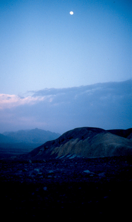 Sunset @ Death Valley, California 1979