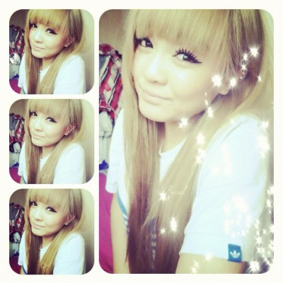 #me #myself #selfportait #face #girl #oriental #chinese #vietnamese #blonde #vain #vanity #pretty #oldphoto #personal #randomrayroxy #asian #adidas  (Taken with instagram)
