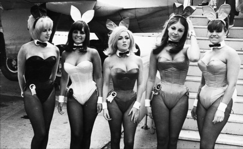 vintagegal:  London Playboy Bunnies, 1965