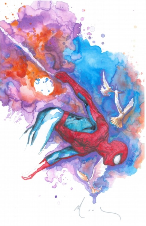 awyeahcomics:  Spider-Man by David Mack