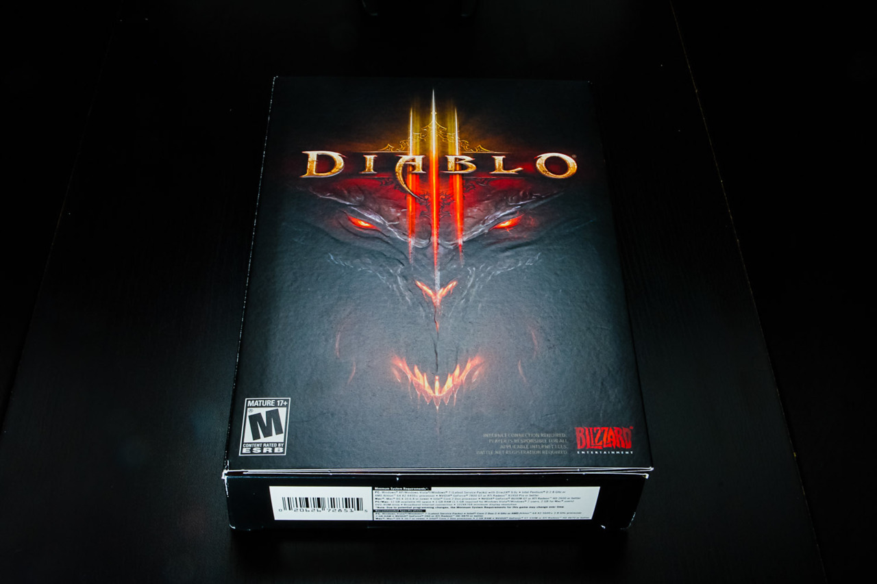 Light Test: Diablo 3, I think I'm playing it wrong.