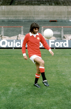 footballarchive:  George Best, 1972. Source: Walla!
