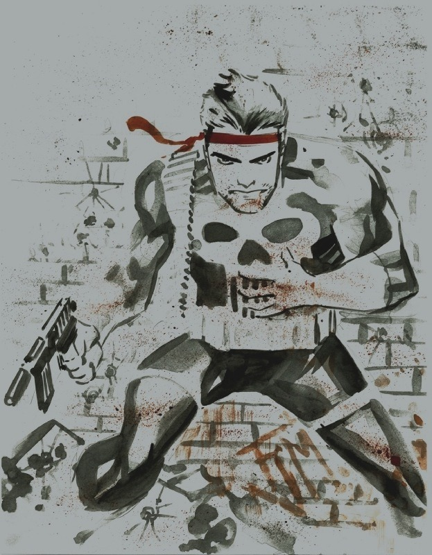 The Punisher by Francis Manapul