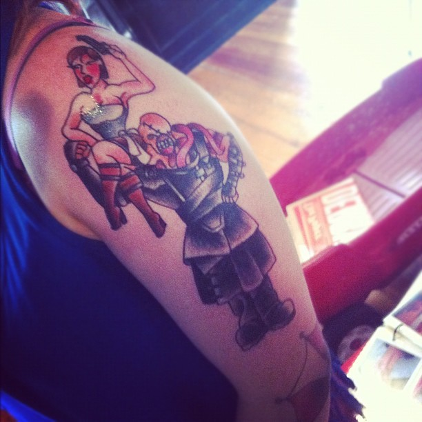 Sweet Resident Evil tattoo!!