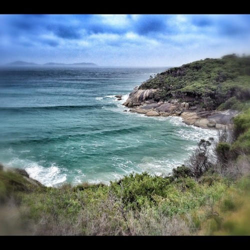 Picnic Bay, Wilson's Prom | #wilsonsprom #view #victoria #ocean #sea #waves #PicnicBay (Taken with instagram)