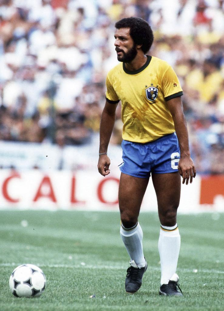 Brasil's Junior in action during the 1982 World Cup.Source: UltimaHora