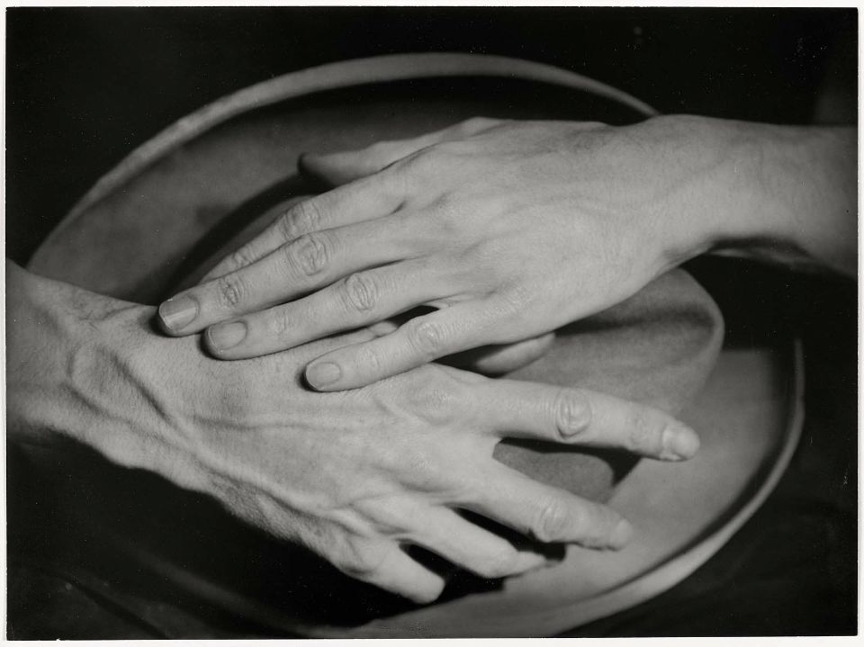 Hands of Jean Cocteau, photographed by Berenice Abbott, Paris, 1926
