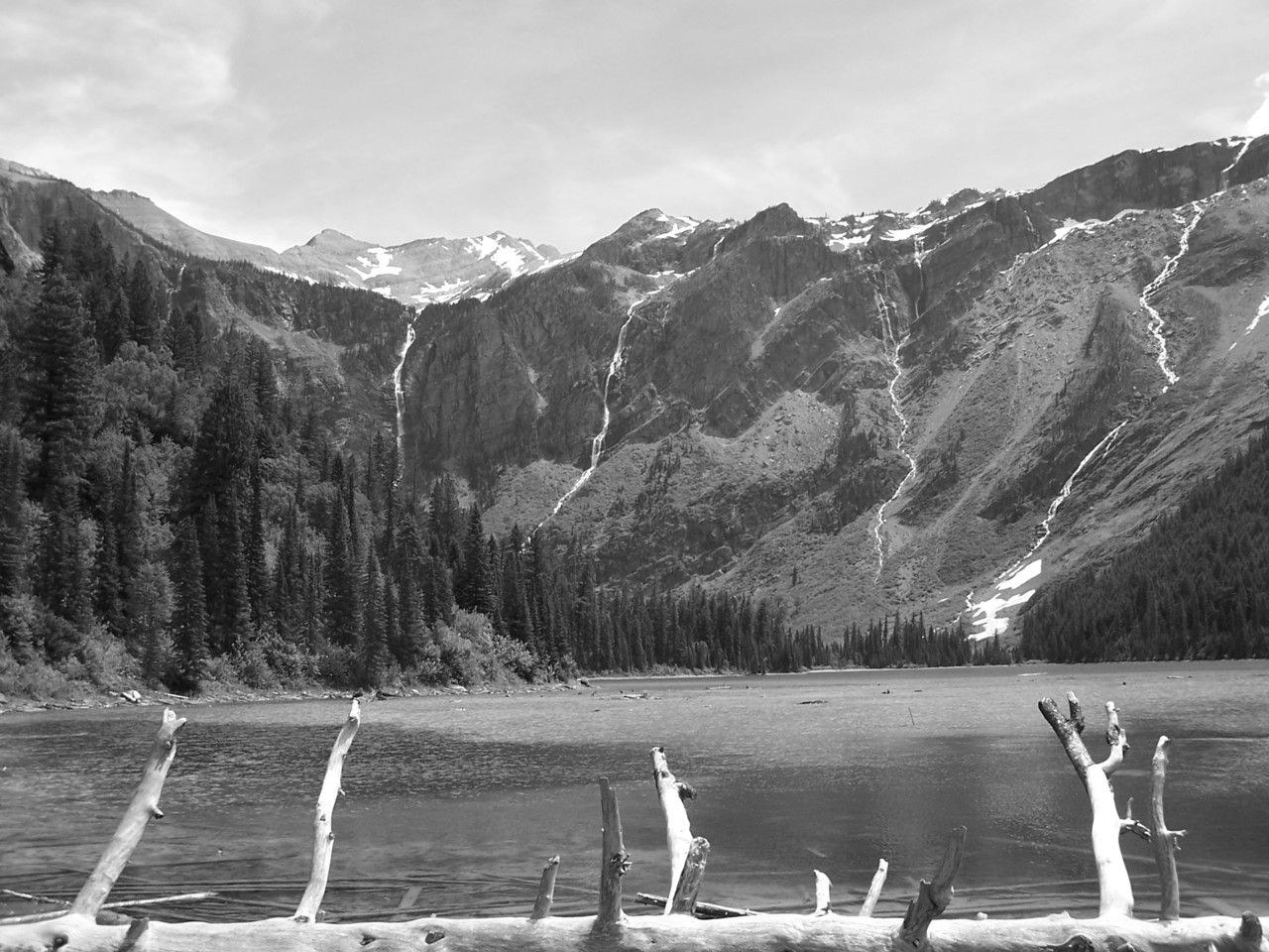 The mountains are calling and I must go. -John Muir (Avalanche Lake, Glacier Nat'l Park, Montana. Dre's Addictions 2005)
