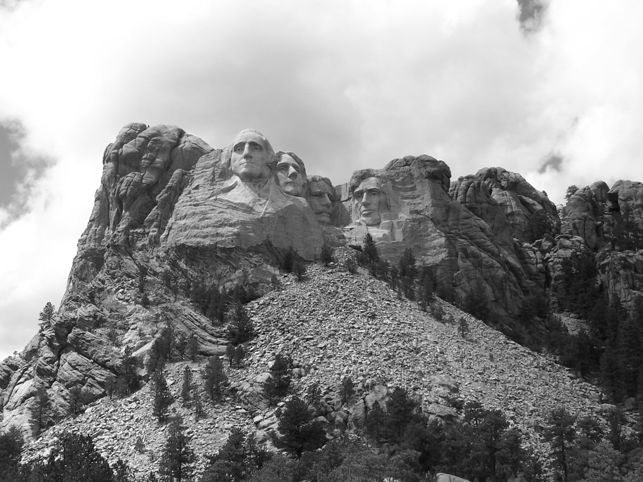 Mount Rushmore, South Dakota. (Dre's Addictions 2005)