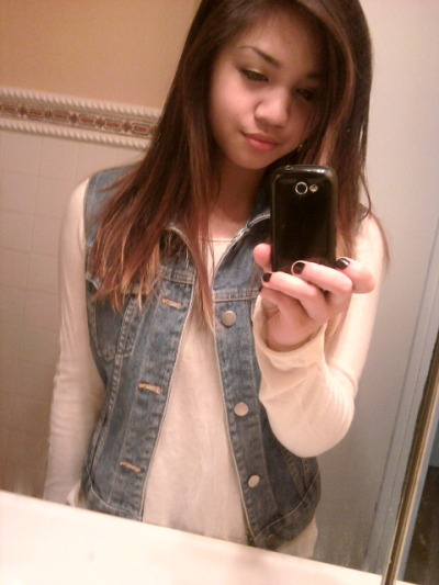 got a jean jacket from the thrift store! weeeee